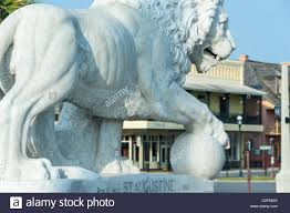 marble lions white carrara marble lion sculpture at the foot of the bridge of