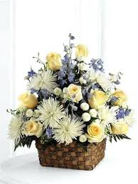 white and blue floral arrangements blue floral arrangement eatatjacknjills