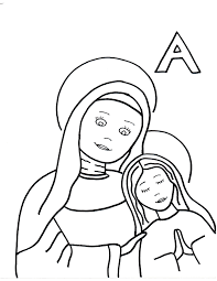 coloring pages saints to color page 7