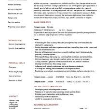 Pharmacy Technician Job Duties Resume by Nice Design Ideas Pharmacy Tech Resume 4 Pharmacy Technician