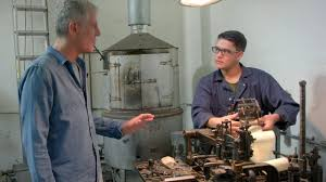 raw craft with anthony bourdain episode five arion press youtube