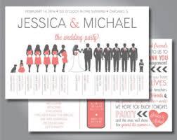 how to do a wedding program silhouette wedding program printable wedding program