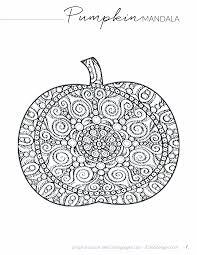 Printable Halloween Pumpkin 365 Designs Orange Chicken From Panda Express With Mandala Printable