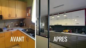 avant après créer une cuisine ouverte pour moderniser