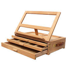 wooden artist supply box ebay