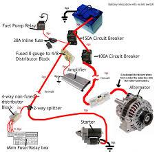2g battery relocation alternator wires dsmtuners