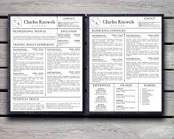 Resume Matching Software Stand Out Shop U2014 Modern Resume Cv Template For Microsoft Word With