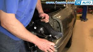 how to install replace taillight and bulb mercury grand marquis 99