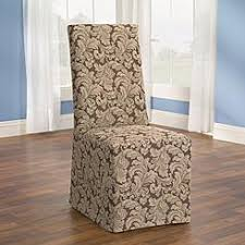Dining Chair Slipcovers With Arms Sure Fit Cotton Duck Arm Dining Room Chair Cover