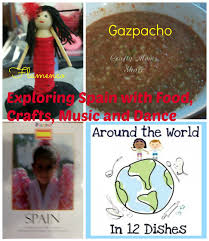 crafty moms share exploring spain 2 with food crafts music and