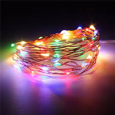cheap fairy lights battery operated 300cm multicolor copper wire mini led string lights battery operated