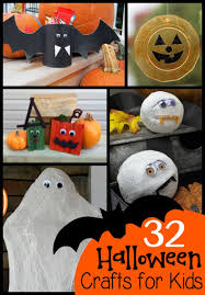 32 halloween crafts for kids typically simple