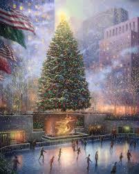 imposing ideas thomas kinkade christmas tree amazon com christian