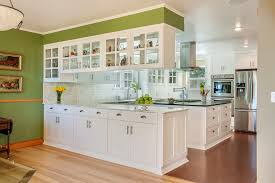 Glass Upper Cabinets Magnificent 80 Hanging Upper Kitchen Cabinets Decorating