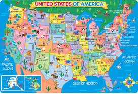 Magnetic Map Of Usa by Kids Maps Us Map Puzzle Android Apps On Google Play Kids Wall Map