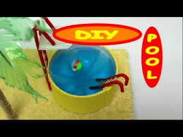 Craft Project Ideas For Kids - how to make a swimming pool diy kids toys youtube