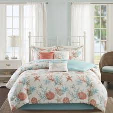 Seashell Queen Comforter Set Coastal Bedding Sets You U0027ll Love Wayfair