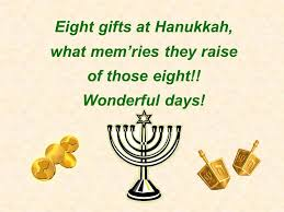 chanukah days eight days of hannukah no vocals