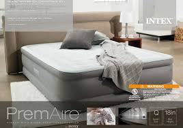 Intex Sofa Bed by Intex Premaire Queen Airbed