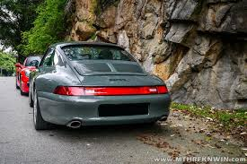 porsche 993 porsche 993 carrera s refreshed in one shade of many greys