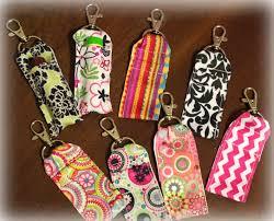clip on ribbon chapstick holder crafts pinterest chapstick