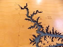 ozarks map lake of the ozarks tennessee laser engraved map