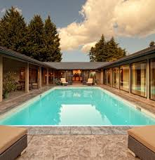 u shaped houses floor plan contemporary pool u shaped house plans with courtyard