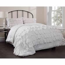 Ruffle Bedding Set Latitude Ruby Ruffle Bedding Comforter Set Walmart