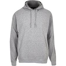 inexpensive river island men u0027s grey cotton hoodie q55s10 www