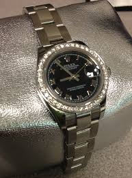 diamond rolex rolex custom diamond bezel gif