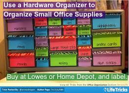 office organization use a hardware organizer to organize small