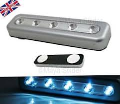 battery operated stick on lights stick n click 5 strip led light battery operated push on off stick