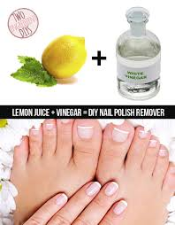 run out of nail polish remover make your own with these 2 staples