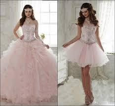 dresses for sweet 15 detachable ruffled sweet 15 quinceanera dresses 2018