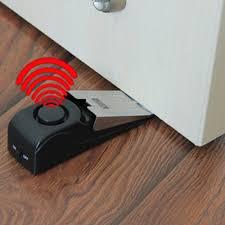 door stopper home security wedge shaped door stopper alarm cellular phone pro