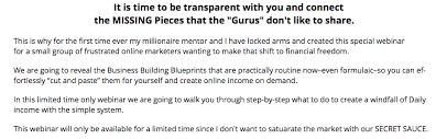 make a blueprint rudy make money blueprint review scam or legit benjisdad com