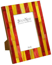 red u0026 yellow 4x6 inches picture frame in bulk wholesale handmade