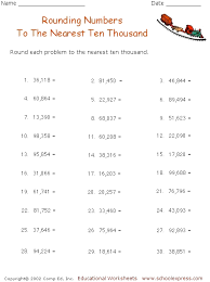 rounding numbers to the nearest 10 100 and 1000 worksheets 28