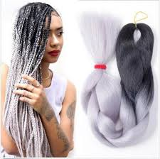 24 inch hair extensions 24 inch ombre xpression jumbo kanekalon synthetic braiding hair