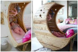 Free Wooden Baby Doll Cradle Plans by Diy Moon Cot Baby Cradle Crib Picture Instructions