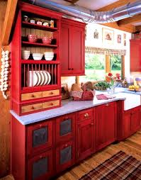bathroom marvelous red painted kitchen cabinet pulls cabinets