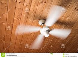 ceiling ventilator fan wooden roof royalty free stock photography