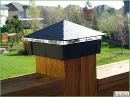 Led Solar Deck Lights - lighting 6x6 post top lights 6x6 post cap lights deck post cap