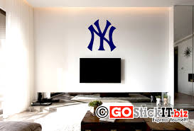 New York Yankees Home Decor by New York Yankees Logo Solid Decal