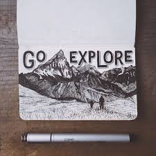 25 unique mountain drawing ideas on pinterest doodles mountain