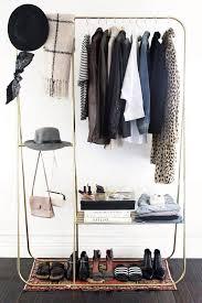 Open Clothes Storage System Diy Best 25 Standing Closet Ideas On Pinterest Wardrobe Rack