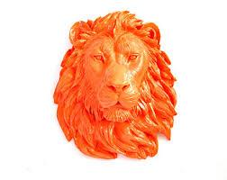 lion home decor etsy