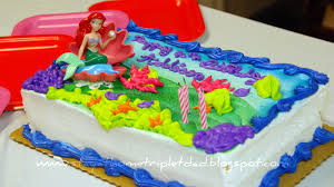 little mermaid birthday cake publix image inspiration of cake