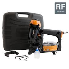 Grip Rite Collated Roofing Nails by Freeman 15 Degree Coil Roofing Nailer Pcn45 The Home Depot