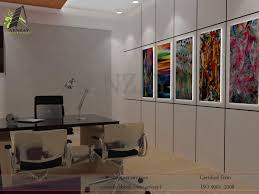 china plates project marketing director office design by aenzay
